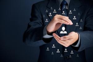 La cura del cliente e l'organizzazione aziendale.